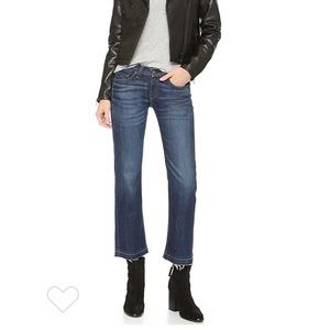 Rag-Bone Cropped Straight Leg 26  Denim/Jeans